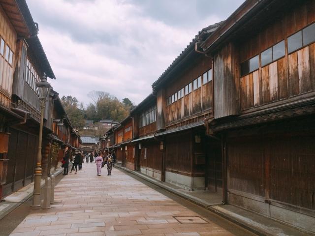 金沢東茶屋街の写真