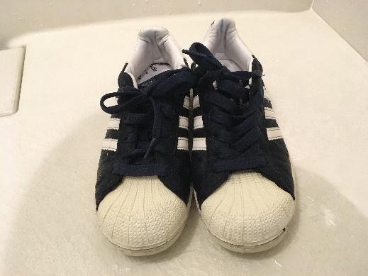 綺麗にした後の靴の写真