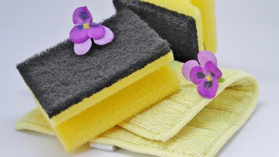洗い物用スポンジの写真