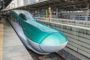 新幹線の写真
