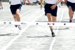 徒競走の写真
