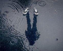 水溜りの写真