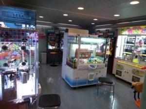 ゲームセンターの写真