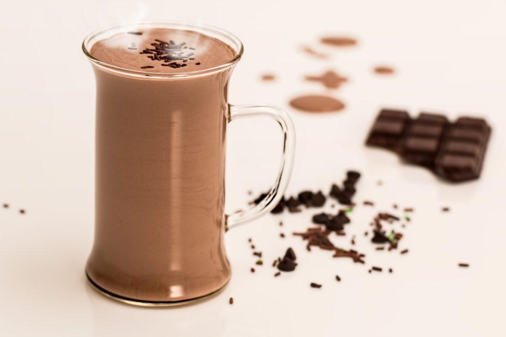 チョコレートドリンクの写真