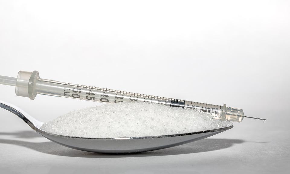 お砂糖と注射器