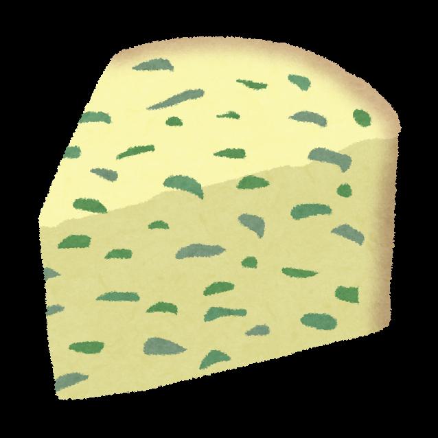 ブルーチーズのイラスト