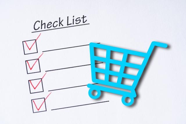 買い物のチェックリスト