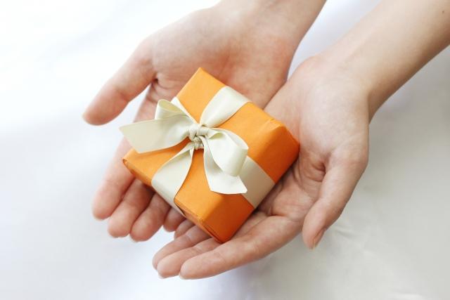手のひらサイズのプレゼント
