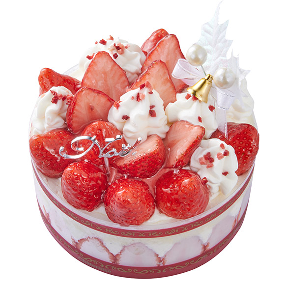 シャトレーゼの苺のケーキ
