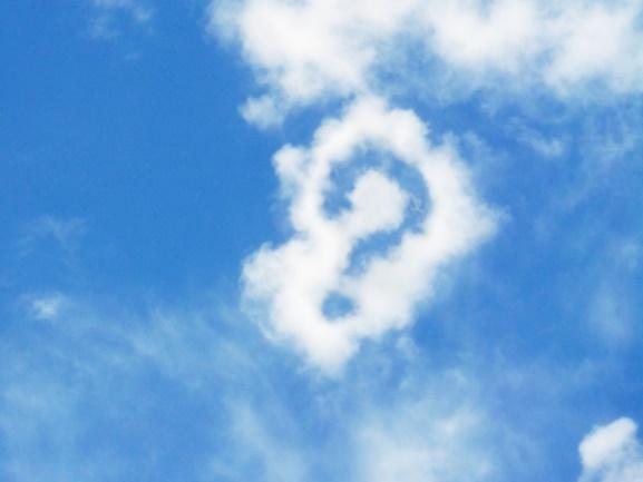 雲でできた?