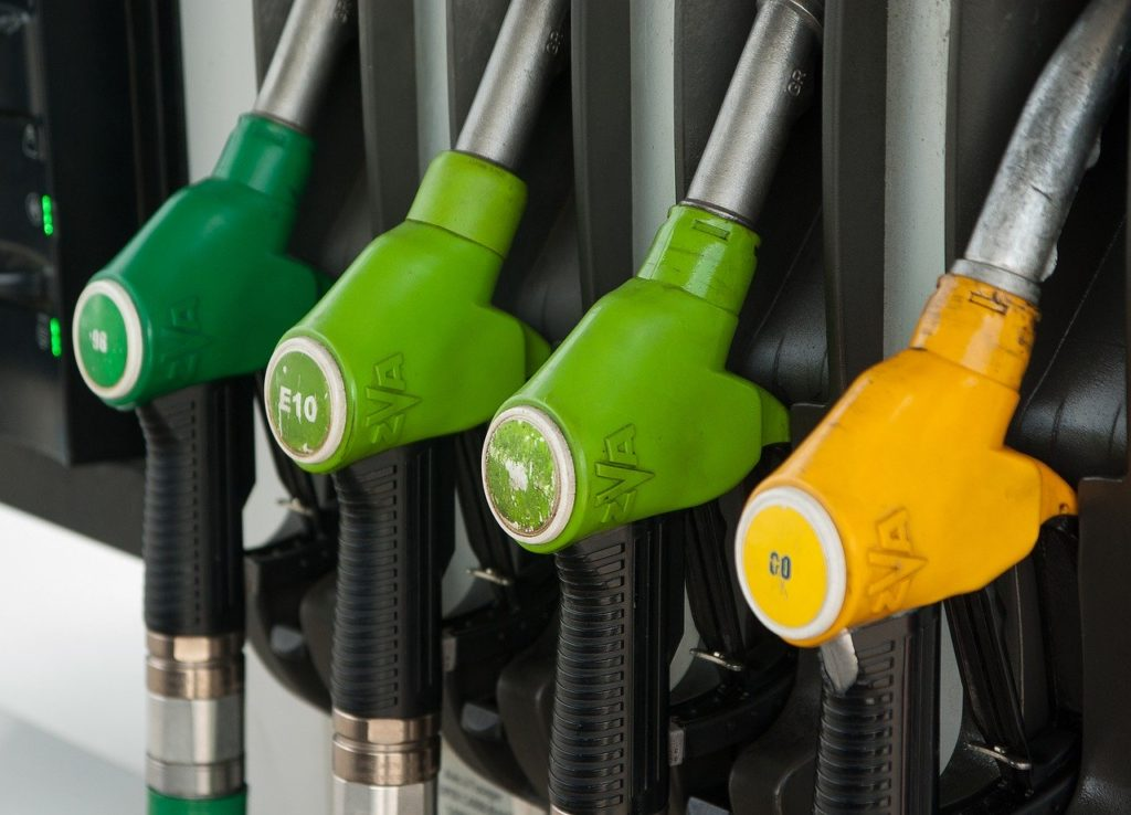 ガソリンノズルの写真