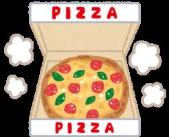 ピザのイラスト