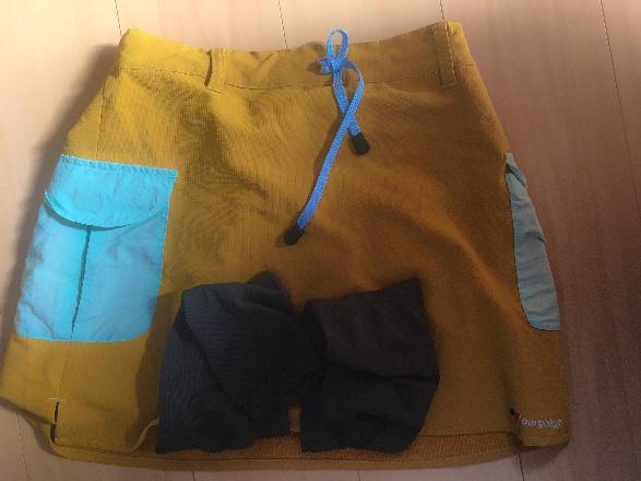 登山用スカート