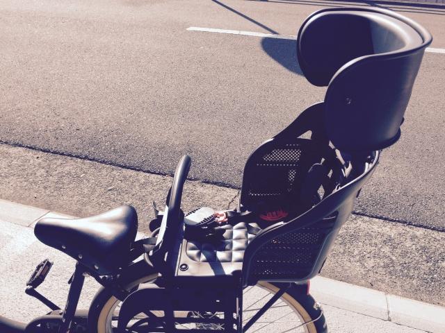 後ろ乗せ自転車