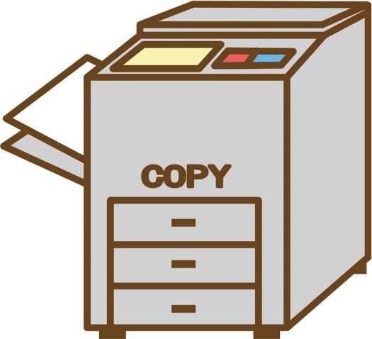コピー機もイラスト