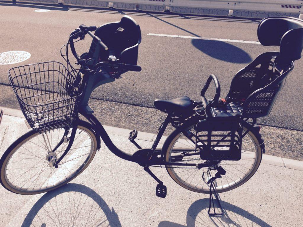 子供を乗せる自転車