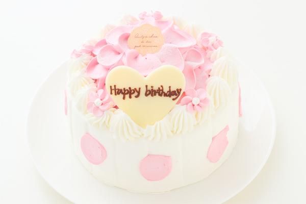 苺のお花ケーキ