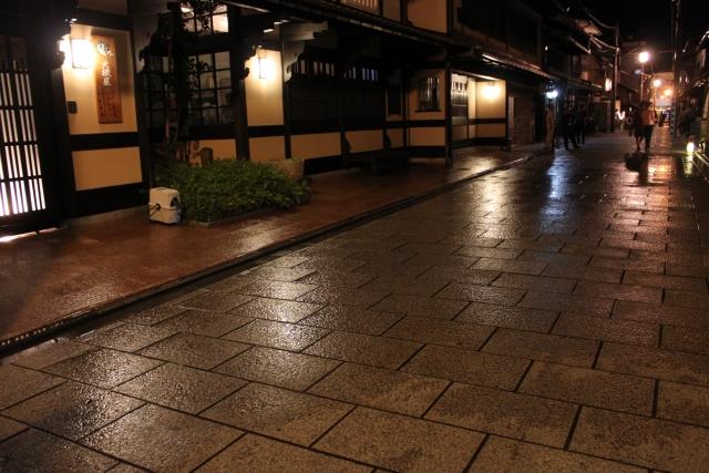 京都打ち水